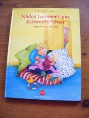 Geschwisterbuch Niklas bekommt ein Schwesterchen