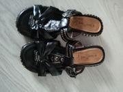 Sandale Laura Berg schwarz Gr