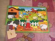 Kinderpuzzle aus Holz groß