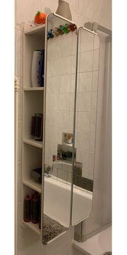 IKEA Spiegel Badregal aus Metall
