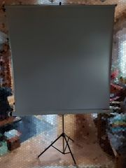 Leinwand für Projektionen von Bildern