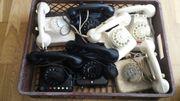 Alte tefon Sammlung und teile