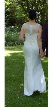 Brautkleid - Champagnerfarben - Größe 40