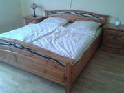 Doppelbett 2 Kommoden Landhausstil Honig
