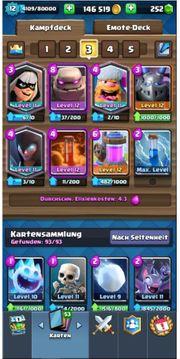 Clash Royale Lv 12 Alle