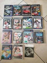 PS2 Konsole Zubehör und Spiele