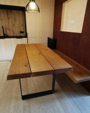 Holztisch aus Eiche NEU