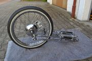 HARLEY-DAVIDSON SPRINGER GABEL ORIGINAL CHROM