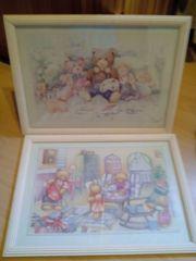 2 Bilder für Kinderzimmer Mädchenzimmer