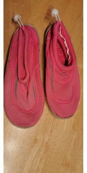 Badeschuhe Schuhe schwimmen Schwimmschuhe rosa