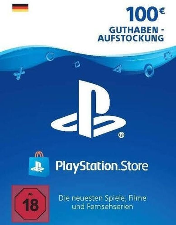 100 PlayStation Network Guthaben