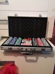 Poker set mit Koffer