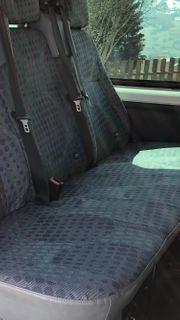 neue Sitzbank 3 Reihe für