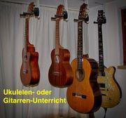 Biete Gitarren o Ukulelen-Unterricht - Suche