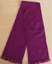 Schal violett ca 110 cm