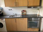 große zweizeilige Küche inkl Elektrogeräte