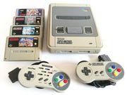 Original Super Nintendo Konsole 8