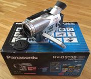Panasonic Camcorder NV-GS70B Silber gebraucht