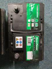 drei alte autobatterien