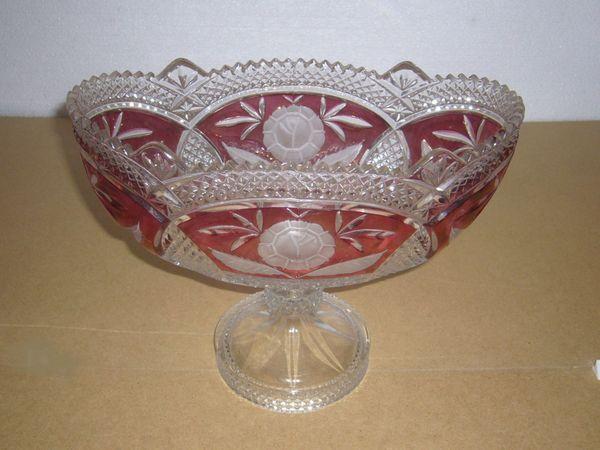 Kristallglas Schale