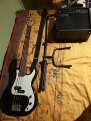 Clifton E-Bass mit Zubehör