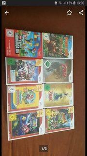 Mario und Zelda Wii Spiele