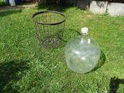 Glasballon Weinballon Gärballon 50 Liter