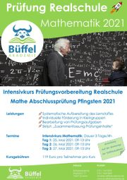 Intensivkurs Prüfungsvorbereitung Realschule Mathematik 2021