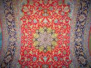 Perserteppich Seidenteppich Isfahan