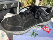 Leder Sneaker Junge Größe 41