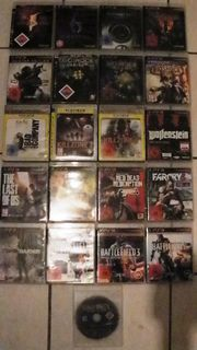 21 PS 3 Playstation Spiele
