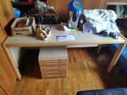 Diverses zu verschenken Schreibtisch Bürostuhl