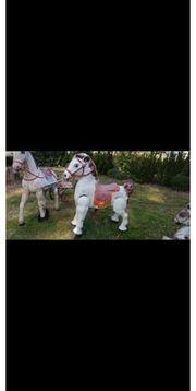 Antike Blech Pferde