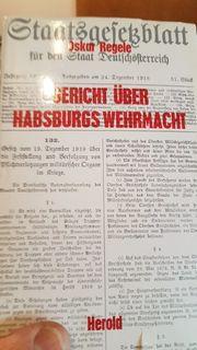 Gericht über Habsburgs Wehrmacht