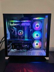 High-End Gaming PC mit RGB