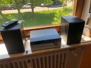 Sony- Midi Stereoanlage schwarz silber