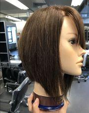 Kostenloser Damenhaarschnitt Haarmodell für Friseur