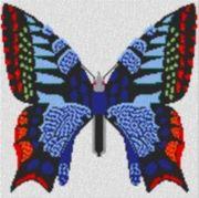Vorlage für Ministeck Butterfly 60x60cm
