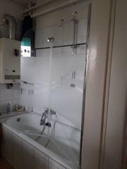 Badenwannen Duschwand aus Glas