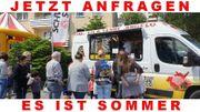 SOMMERZEIT Eiswagen Zeit Eis essen