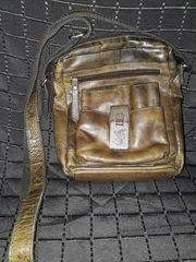Tasche Schultertasche Damenhandtasche Salamander Echtleder