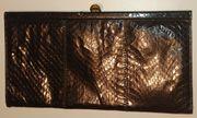schwarze Abendtasche Operntasche Handtasche