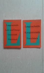 Französich Grammatik 2 Bücher Langenscheidt