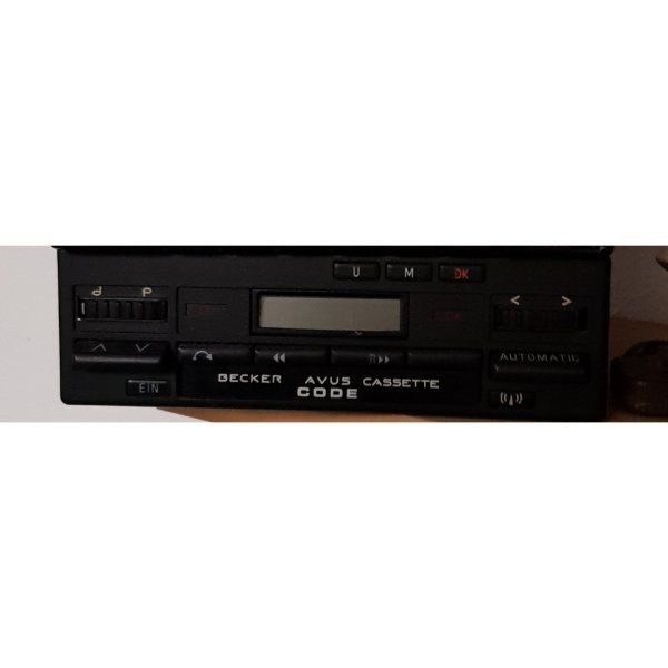 Autoradio Becker AVUS Cassette
