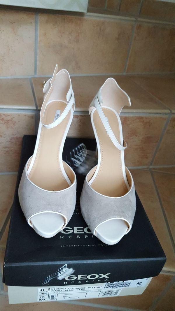 sports shoes dd186 3572e GEOX Sandalette weiß/hellgrau, Gr. 41, Neu in Liederbach ...