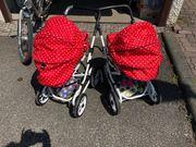 Brio Puppenwagen für Zwillingsmädchen
