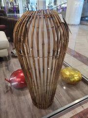 Bodenlampe aus Bambus Design