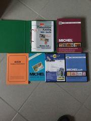 Briefmarken Bücher und Cd s