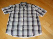 Neu graukariertes Hemd von Globetrotter