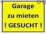 Garage gesucht